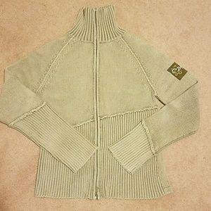DKNY zip up cardigan size Large
